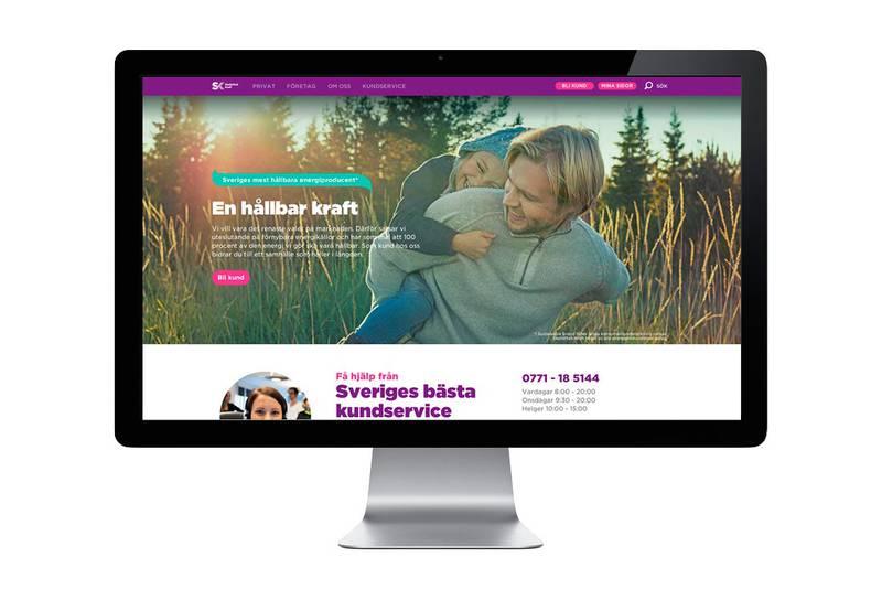 Företagets Webbplats är en av de mest viktigaste kanaler utåt idag. Tillsammans med Skellefteå kraft arbetade teamet fram en övergripande strategi för den digitala närvaron.